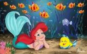 Русалочка и рыбка