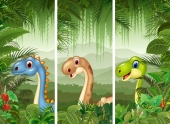 Маленькие динозавтры