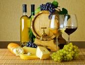 Виноград и сыр