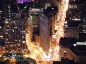 Освещенная улица