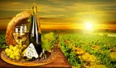 Вино на закате