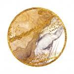 Абстракция Мрамор. Золотые пески