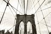Город. Нью-Йорк мост