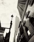 Город. Нью-Йорк небоскреб