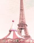 Город. Карусель в Париже