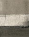 Абстрация холст. Коричневые полосы