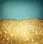 Абстракция. Золотой песок