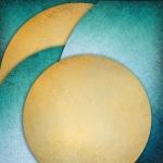 Абстракция. Золотой круг