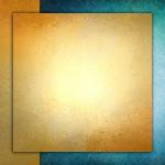 Абстракция. Золотой квадрат