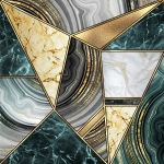 Абстракция мрамор. Мраморная мозайка