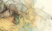 Абстракция мрамор. Коричневый дым
