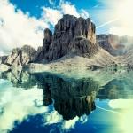 Природа. Крым гора Карадаг