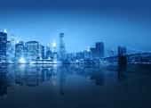 Голубой город