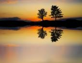 Зеркальный закат