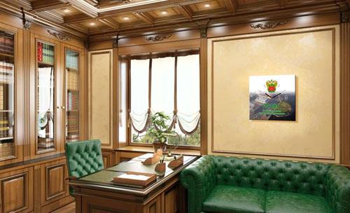 картины с часами из стекла