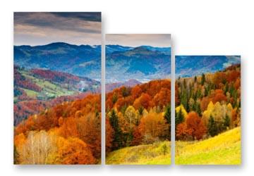 триптих картина природа тоскана