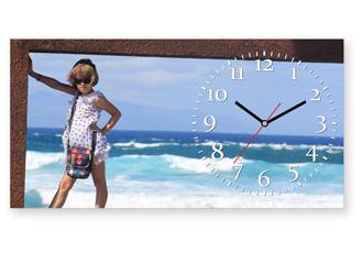 часы с фотографией на отдыхе