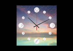 настенные часы с сюжетом Природа