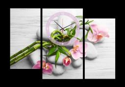 настенные часы с сюжетом Феншуй и SPA