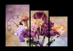 настенные часы Ирисы