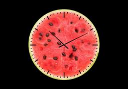 настенные часы с сюжетом Еда