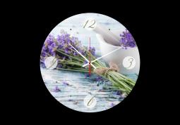 настенные часы с сюжетом Прованс
