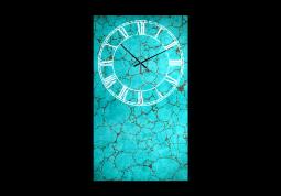 настенные часы Бирюза