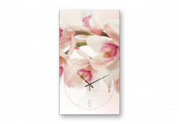 настенные часы Орхидеи на ветке
