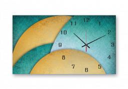 настенные часы с сюжетом Абстракция