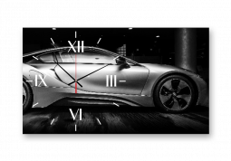 настенные часы с сюжетом Техника