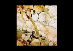 модульная картина Абстракция мрамор. Коричнево-золотой