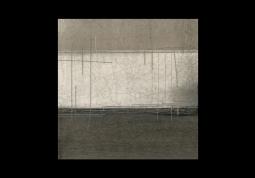 модульная картина Абстрация холст. Коричневые полосы