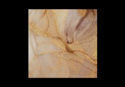 модульная картина Абстракция Мрамор. Нежно-золотая дымка