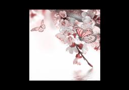 модульная картина Весеннее цветение
