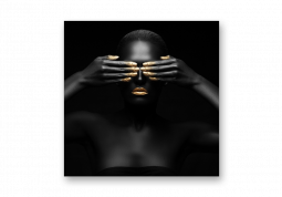 модульная картина Закрытые глаза