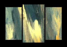 модульная картина Абстракция холст. Шальф