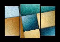 модульная картина Абстракция. Лестница