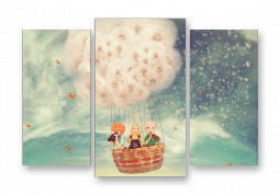 модульная картина с сюжетом Детское