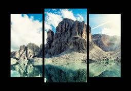 модульная картина Природа. Крым гора Карадаг