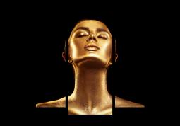 модульная картина Золото