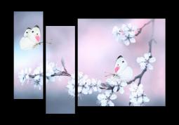 модульная картина Сиреневая дымка