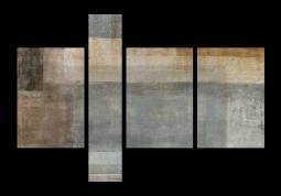 модульная картина Абстракция холст. Хорсмит