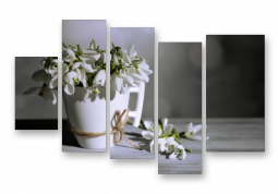 модульная картина Скоро весна