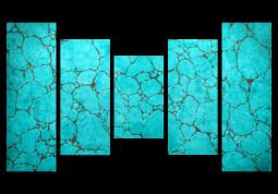 модульная картина Бирюза