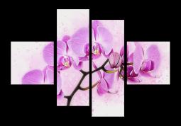 модульная картина Акварельная орхидея