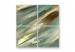 модульная картина Абстракция холст. Шармон