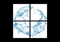 модульная картина Вода