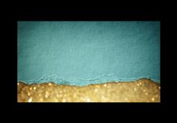модульная картина Абстракция. Золотой песок