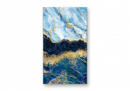 модульная картина Абстракция мрамор. Мраморный океан