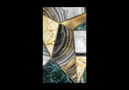 модульная картина Абстракция мрамор. Мраморная мозайка